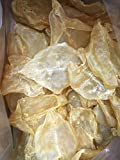 China Good Food Dried Seafood Opened Fish Maw / Hua Jiao 鴨巴膠 魚肚 Worldwide FREE AIRMAIL