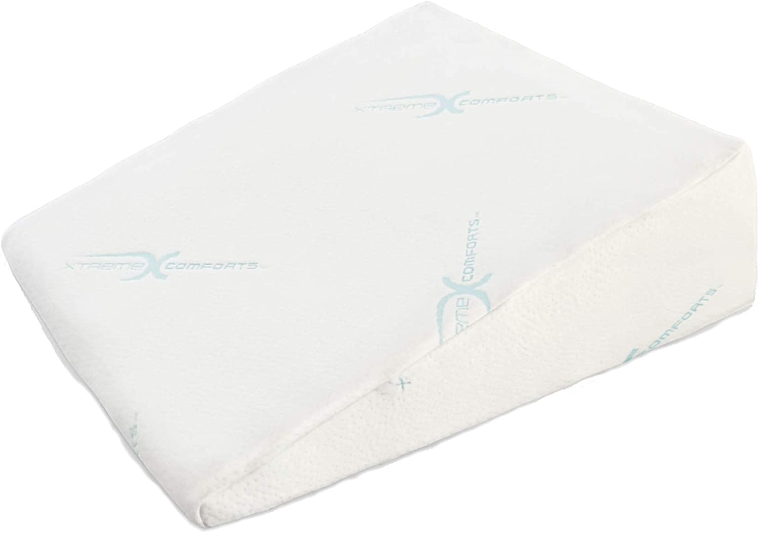 """Xtreme Comforts 7"""" Memory Foam Bed Wedge Pillow"""