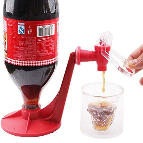 Coke bottle upside down drinking water is pumped pressure suction device switches drinking cola drinkers - Invert Mini Co2