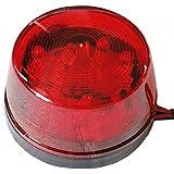 【ノーブランド品】LED フラッシュ ストロボ 12V 汎用 警告灯 非常灯 レッド 赤