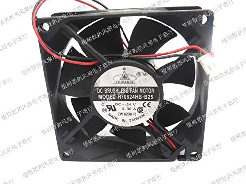 AXDZ Delta HF0824HB-B25 24V 0.30A 808025mm two line dryer parts cooling fan
