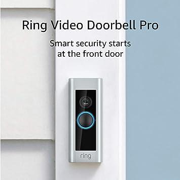 existing doorbell wiring required Ring Video Doorbell Pro Works with Alexa