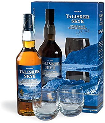 Talisker Skye / 2 Glass Pack / 70cl: Amazon.es: Alimentación y bebidas