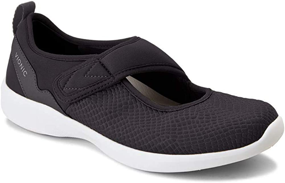 Vionic Womens Sky Sonnet Ankle-High Mary Jane Flat