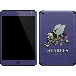 US Navy iPad Mini (1st & 2nd Gen) Skin - Seabees Can Do Vinyl Decal Skin For Your iPad Mini (1st & 2nd Gen) by Skinit