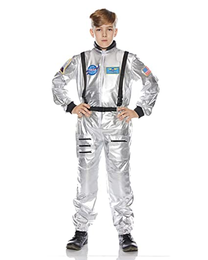 Horror-Shop Astronauta Niños Traje de Plata M: Amazon.es ...