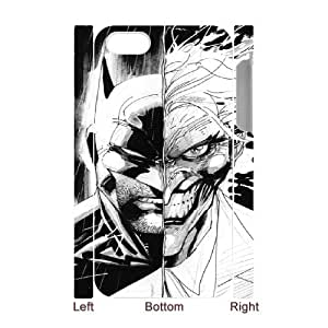 Batman Joker iPhone 4 4s Cell Phone Case 3D White PSOC6002625649378