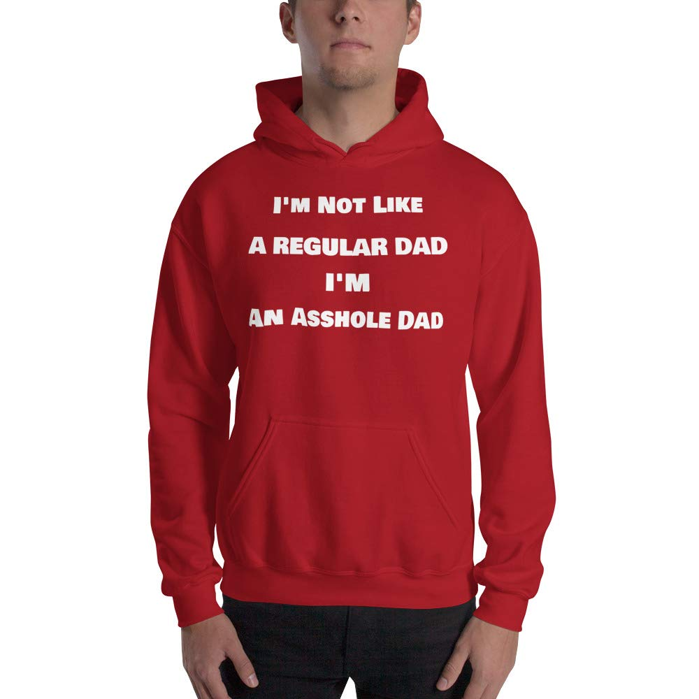 Dad Birthday Gift Dad from Daughter kangarooze Funny Dad Hoodie