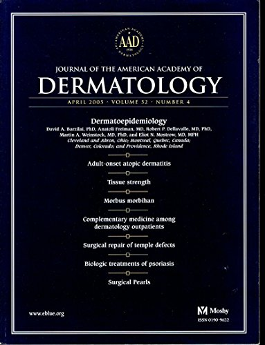 Books : Journal of the American Academy of Dermatology - April 2005 - volume 52 – number 4
