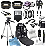Outdoor Ultimate Accessory Package for the Canon EOS Rebel T2i, T3i, T4i, T5i Digital SLR Camera (Which Has Canon 18-55mm, 55-250mm, 75-300mm III, 70-300mm IS USM, 28mm f1.8, 50mm F1.4, 85mm F1.8 Or 100mm F2.8 Lens)