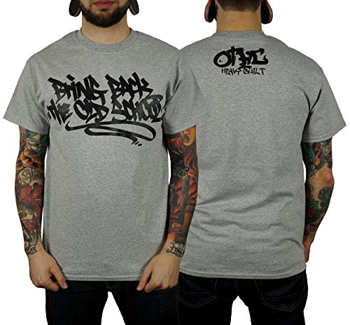 "Oldtime Hardcore Cloth. ""BRING BACK THE OLD SCHOOL"" T-Shirt heathergrey"