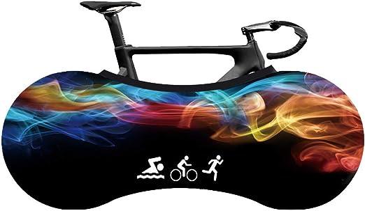 Wooden fish Funda Bici para Interiores Funda para Bicicleta Exterior ...