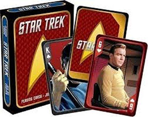 Star Trek Cast Playing Cards by Aquarius ()