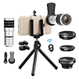 Best Iphone Lens Kits - Vorida Phone Camera Lens 6-in-1 Telephoto Lens Kit Review