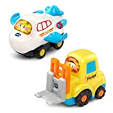VTech Go! Go! Smart Wheels - 2-pack with Jet and Forklift