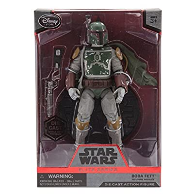 Boba Fett Cape Elite Series Die Cast Action Figure - 7'' - Star Wars