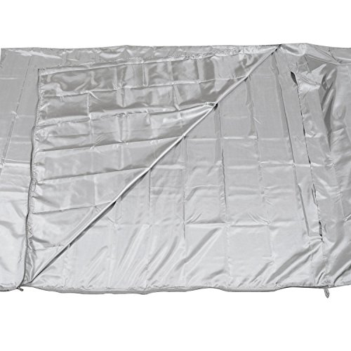 The Friendly Swede Travel and Camping Sheet Sleeping Bag Liner with Full Length Zipper