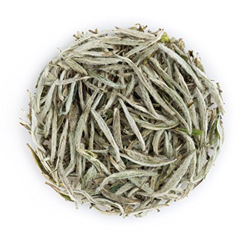 (Premium Loose White Tea (Silver Needles 50 Grams) Sample Pack)
