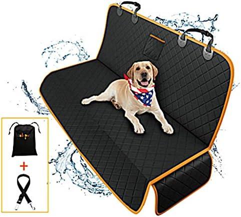 Autositzbezüge für Hunde Oxford-Stoff 100% Wasserdicht Hunde Autoschondecke Mit Sicherheitsgurt Kratzfest rutschfeste Waschmaschinenfest Für Auto/Van/SUV 142 * 48 * 56 cm