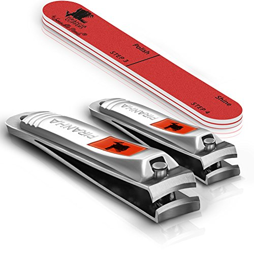 Piranha Nail Clippers Gift Set with Nail - Piranha Edge Shopping Results