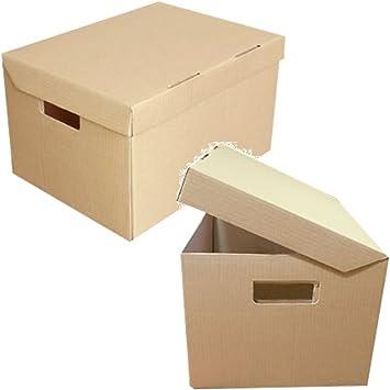 40 resistente A4 Archive de almacenamiento archivadores de cartón ...