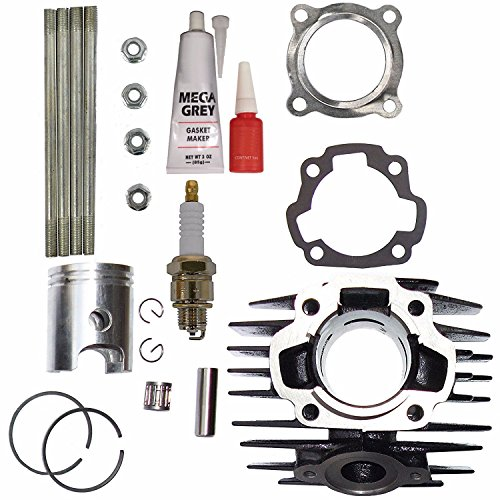 Cylinder Block for YAMAHA PW 80 PW80 BW 80 Gasket Piston Ring Kit Set 1983-2006