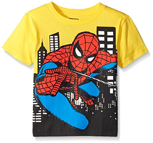 Yellow Silk Spider (Spiderman Boy's Web Ride, Yellow,)