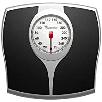 Detecto Pro Style Analog Bathroom Scale with 5-Inch Easy-read Speedometer Dial