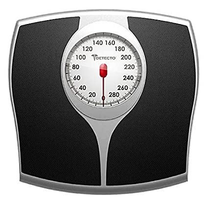 Exceptionnel Detecto Pro Style Analog Bathroom Scale With 5 Inch Easy Read Speedometer  Dial
