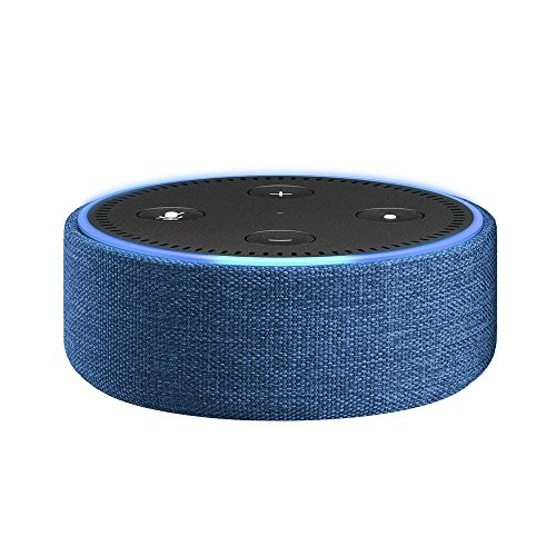 Amazon Echo Dot Case - Indigo Fabric