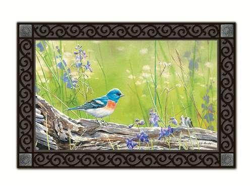 Magnet Works MAIL11272 Meadow Bluebird Matmate