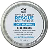 Legendary Canine, Paw and Elbow Rescue Balm for Dogs, Natural, Canadian, Handcrafted, Non Greasy, Protects and Moisturizes; 60ml