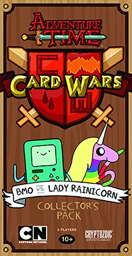 Adventure Time Card Wars Collector's Pack 2: BMO vs. Lady (Adventure Card)