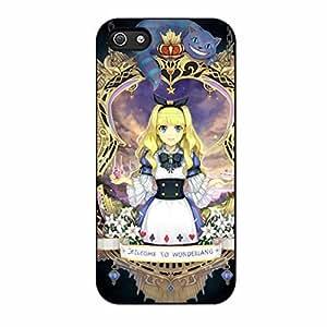 Alice In Wonderland iPhone 5/iPhone 5s Case BD (Black Plastic)
