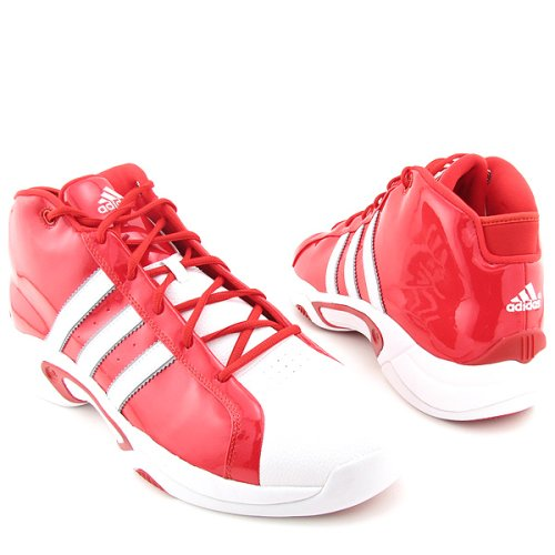 adidas Men's Midseason Basketball Shoe B000IVGVQS 15 D(M) US|University Red/R White