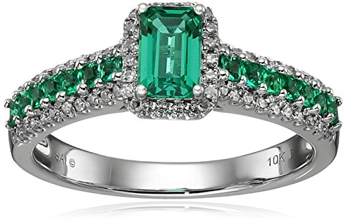 diamond and emerald ring - 4