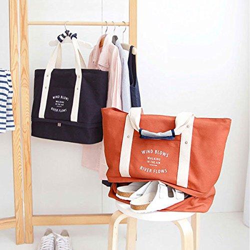 e9cc9b77e800 Amazon.com : Bazaar Multifuctional Large Travel Bag Waterproof Cloth ...