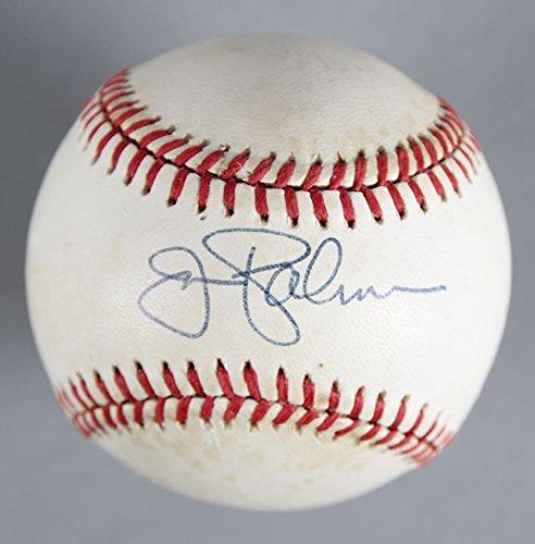 (Jim Palmer Signed Baseball Orioles - COA JSA)
