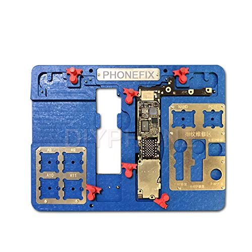 VIPFIX Latest MJ A23 Multi-Model Phone Motherboard Holder Phone Motherboard Test Fixture for iPhone 6 6P 6S 6SP 7 7P 8 8P Motherboard Repair