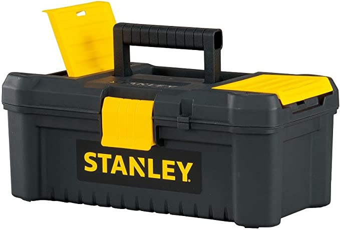 Stanley Tools and Consumer Storage STST13331 - Caja de herramientas (31,8 cm), color negro y amarillo: Amazon.es: Bricolaje y herramientas