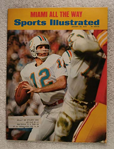 Miami Dolphins Sports Illustrated Cover - 3