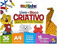 Livro + Bloco Criativo (Escolinha Todolivro)