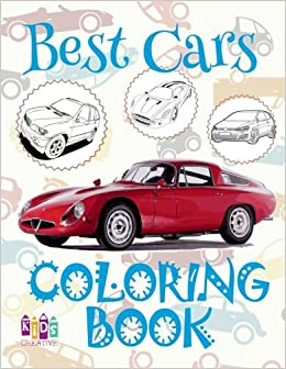 Best Cars Coloring Book: ✌ Coloring Book Under 5 Year Old ...