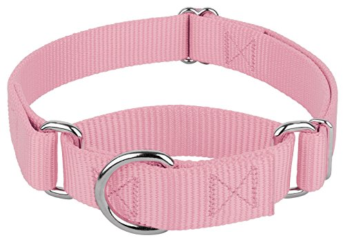 Image of Country Brook Design | Martingale Heavyduty Nylon Dog Collar - Lilac - Large