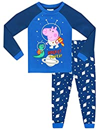George Pig Boys George Pig Glow In The Dark Pajamas