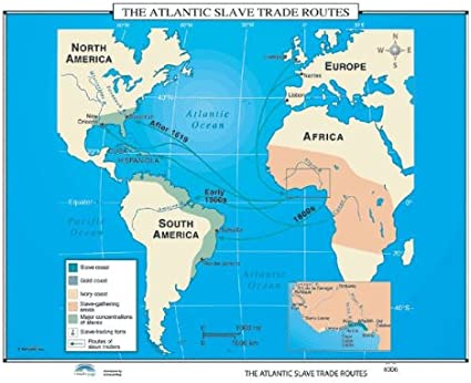 when was the atlantic slave trade