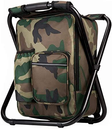 Bright Starl Upgraded Portable Fishing Backpack
