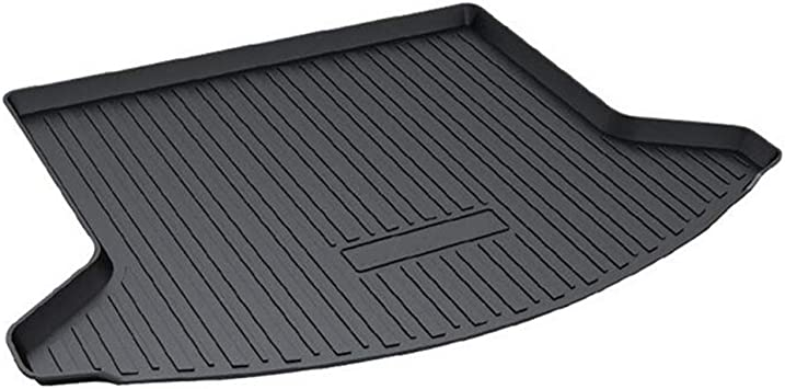 Aiqiying Cargo Liners,Black Heavy Duty/Rubber Waterproof Rear Cargo Tray Trunk Floor Mat Protector Custom Fit/for 2017 2018 2019 Mazda CX-5