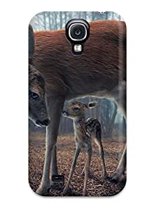 For Galaxy Case, High Quality Deer For Galaxy S4 Cover Cases