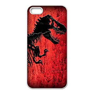 Jurassic World White Phone Case For iPhone 5s